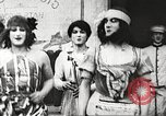 Image of World War 1 US soldiers watching drag queens perform France, 1918, second 14 stock footage video 65675061256