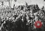 Image of World War 1 US soldiers watching drag queens perform France, 1918, second 19 stock footage video 65675061256