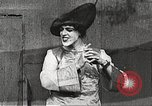 Image of World War 1 US soldiers watching drag queens perform France, 1918, second 31 stock footage video 65675061256
