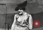 Image of World War 1 US soldiers watching drag queens perform France, 1918, second 36 stock footage video 65675061256