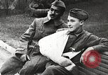 Image of World War 1 US soldiers watching drag queens perform France, 1918, second 43 stock footage video 65675061256