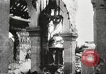 Image of Herbecourt Church France, 1916, second 25 stock footage video 65675061257