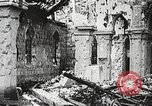 Image of Herbecourt Church France, 1916, second 36 stock footage video 65675061257