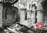 Image of Herbecourt Church France, 1916, second 37 stock footage video 65675061257