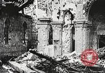 Image of Herbecourt Church France, 1916, second 38 stock footage video 65675061257
