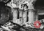 Image of Herbecourt Church France, 1916, second 39 stock footage video 65675061257