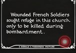 Image of Herbecourt Church France, 1916, second 57 stock footage video 65675061257