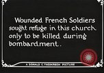 Image of Herbecourt Church France, 1916, second 59 stock footage video 65675061257