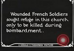 Image of Herbecourt Church France, 1916, second 60 stock footage video 65675061257
