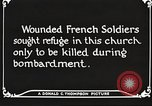 Image of Herbecourt Church France, 1916, second 61 stock footage video 65675061257