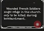 Image of Herbecourt Church France, 1916, second 62 stock footage video 65675061257