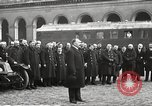 Image of French recognition ceremony at Les Invalides Paris France, 1924, second 31 stock footage video 65675061274