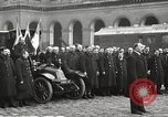 Image of French recognition ceremony at Les Invalides Paris France, 1924, second 36 stock footage video 65675061274