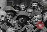 Image of United States soldiers Cherbourg Normandy France, 1944, second 20 stock footage video 65675061282