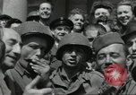Image of United States soldiers Cherbourg Normandy France, 1944, second 23 stock footage video 65675061282