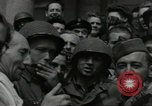 Image of United States soldiers Cherbourg Normandy France, 1944, second 29 stock footage video 65675061282