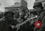Image of United States soldiers Cherbourg Normandy France, 1944, second 31 stock footage video 65675061282