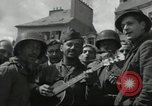 Image of United States soldiers Cherbourg Normandy France, 1944, second 32 stock footage video 65675061282