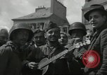 Image of United States soldiers Cherbourg Normandy France, 1944, second 36 stock footage video 65675061282
