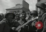 Image of United States soldiers Cherbourg Normandy France, 1944, second 43 stock footage video 65675061282
