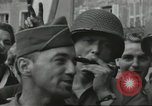 Image of United States soldiers Cherbourg Normandy France, 1944, second 51 stock footage video 65675061282