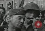 Image of United States soldiers Cherbourg Normandy France, 1944, second 52 stock footage video 65675061282