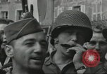 Image of United States soldiers Cherbourg Normandy France, 1944, second 53 stock footage video 65675061282