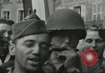 Image of United States soldiers Cherbourg Normandy France, 1944, second 54 stock footage video 65675061282