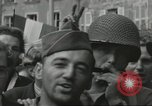 Image of United States soldiers Cherbourg Normandy France, 1944, second 55 stock footage video 65675061282