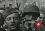 Image of United States soldiers Cherbourg Normandy France, 1944, second 56 stock footage video 65675061282