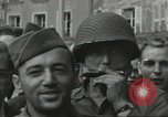 Image of United States soldiers Cherbourg Normandy France, 1944, second 57 stock footage video 65675061282