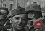 Image of United States soldiers Cherbourg Normandy France, 1944, second 58 stock footage video 65675061282