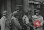 Image of United States soldiers Cherbourg Normandy France, 1944, second 18 stock footage video 65675061283