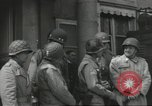 Image of United States soldiers Cherbourg Normandy France, 1944, second 19 stock footage video 65675061283