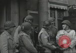 Image of United States soldiers Cherbourg Normandy France, 1944, second 20 stock footage video 65675061283