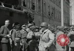 Image of United States soldiers Cherbourg Normandy France, 1944, second 53 stock footage video 65675061283
