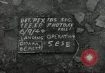 Image of United States soldiers Colleville-sur-Mer Normandy France, 1944, second 6 stock footage video 65675061288