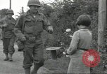 Image of United States soldiers Colleville-sur-Mer Normandy France, 1944, second 38 stock footage video 65675061288