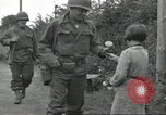 Image of United States soldiers Colleville-sur-Mer Normandy France, 1944, second 39 stock footage video 65675061288