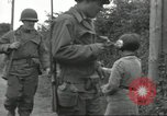 Image of United States soldiers Colleville-sur-Mer Normandy France, 1944, second 41 stock footage video 65675061288