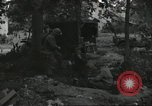 Image of D-Day burial ceremony Colleville-sur-Mer Normandy France, 1944, second 38 stock footage video 65675061293