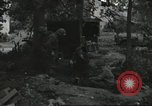Image of D-Day burial ceremony Colleville-sur-Mer Normandy France, 1944, second 40 stock footage video 65675061293