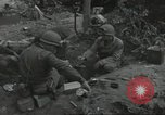 Image of D-Day burial ceremony Colleville-sur-Mer Normandy France, 1944, second 52 stock footage video 65675061293