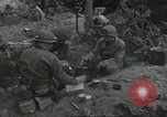 Image of D-Day burial ceremony Colleville-sur-Mer Normandy France, 1944, second 55 stock footage video 65675061293