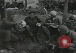 Image of D-Day burial ceremony Colleville-sur-Mer Normandy France, 1944, second 60 stock footage video 65675061293