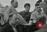 Image of Allied convoy Colleville-sur-Mer Normandy France, 1944, second 13 stock footage video 65675061302