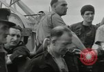 Image of Allied convoy Colleville-sur-Mer Normandy France, 1944, second 14 stock footage video 65675061302
