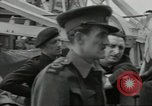 Image of Allied convoy Colleville-sur-Mer Normandy France, 1944, second 16 stock footage video 65675061302