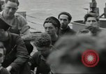Image of Allied convoy Colleville-sur-Mer Normandy France, 1944, second 21 stock footage video 65675061302