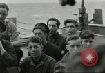 Image of Allied convoy Colleville-sur-Mer Normandy France, 1944, second 22 stock footage video 65675061302